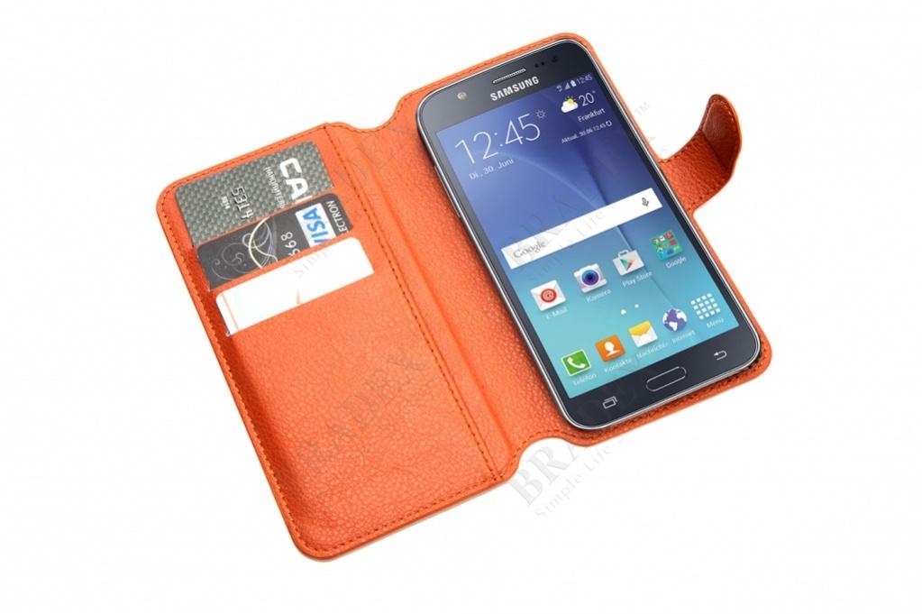 Чехол-книжка универсальный для телефона, коричневый 15,7*8 см (flip-open cover phone case, brown, 15,7*8 cm)