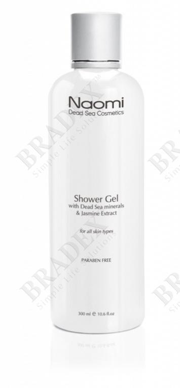 Гель для душа с минералами мертвого моря и экстрактом жасмина «naomi», 300 мл. (bath and shower gel – jasmin