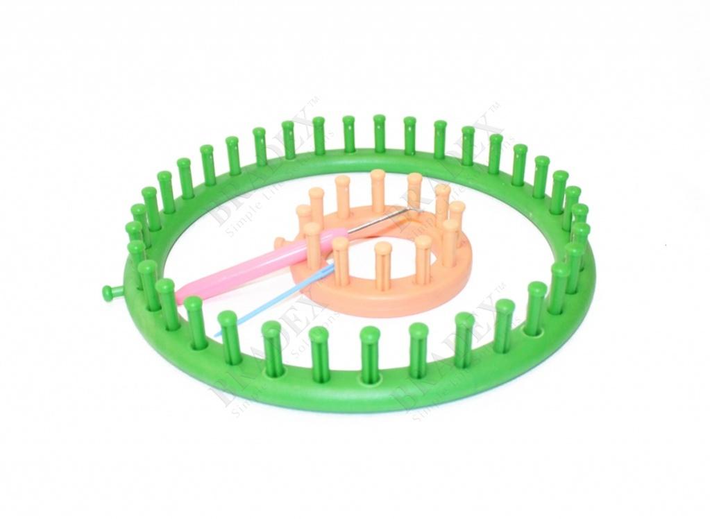 Набор приспособлений для вязания «рукодельница» (knifty knitter)