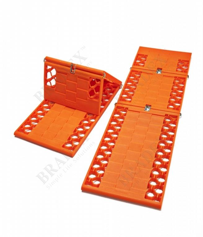 Набор из двух антипробуксовочных лент «спасатель» (2pcs car traction mats)