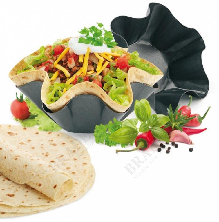 Набор форм для выпекания «тортилья» (perfect tortilla pan)
