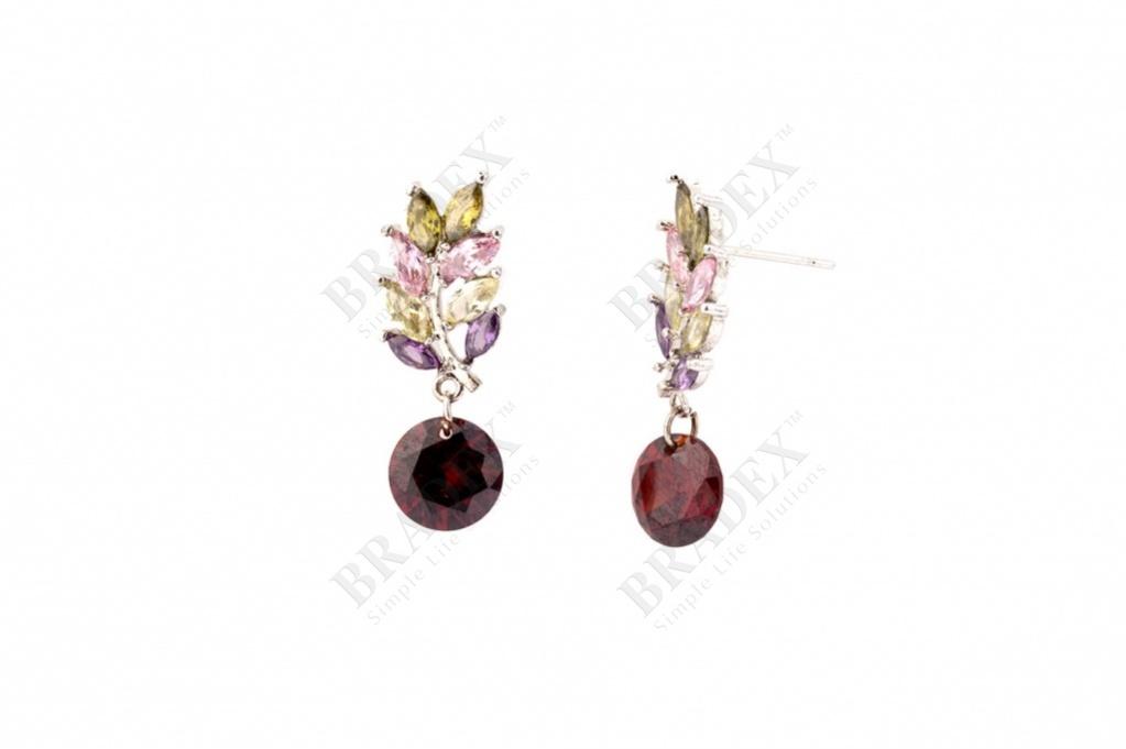 Серьги «кипарис» earrings 2014775 купить оптом