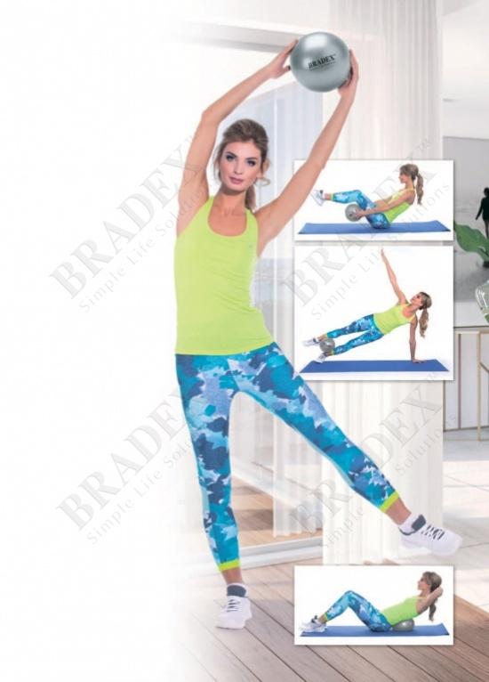 Мяч для фитнеса, йоги и пилатеса «фитбол-25» (fitness ball 25 cm)