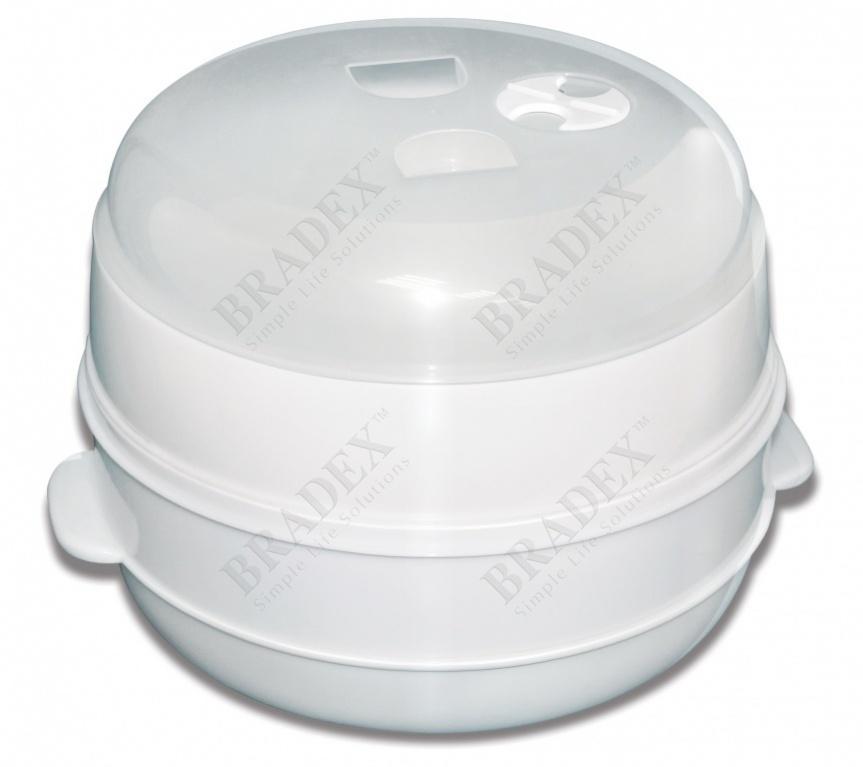 Пароварка для свч двухуровневая «вкус и польза» (microwave multi steamer)