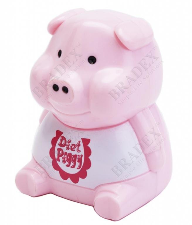 Устройство для контроля над питанием «хрюшка-диетолог» (light sensing diet pigy)