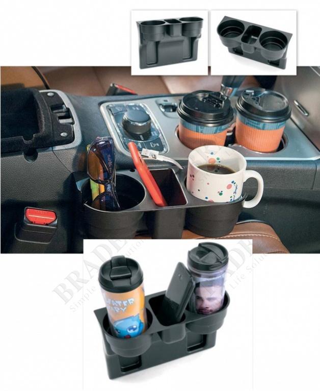 Подставка для кружек в автомобиль (car valet commercial / car cup holders)