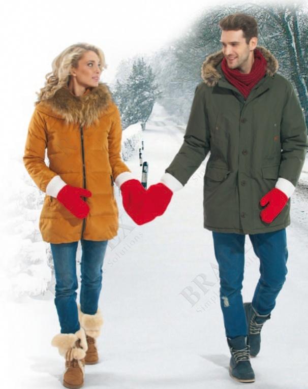 Варежки для влюбленных (gloves for lovers)
