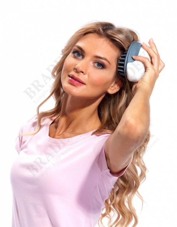 Массажер для мытья головы «актиния» hairsonic system купить оптом