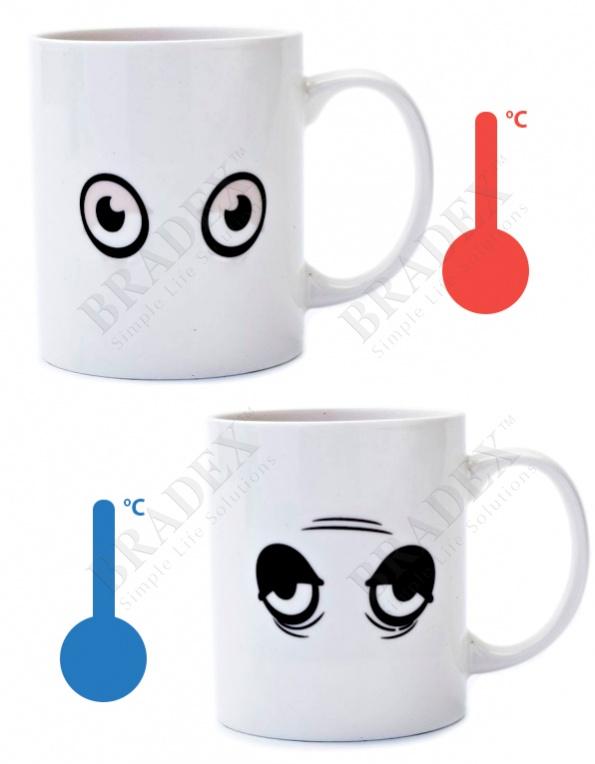 "Кружка-хамелеон «бодрое утро» (cup ""eyes"")"
