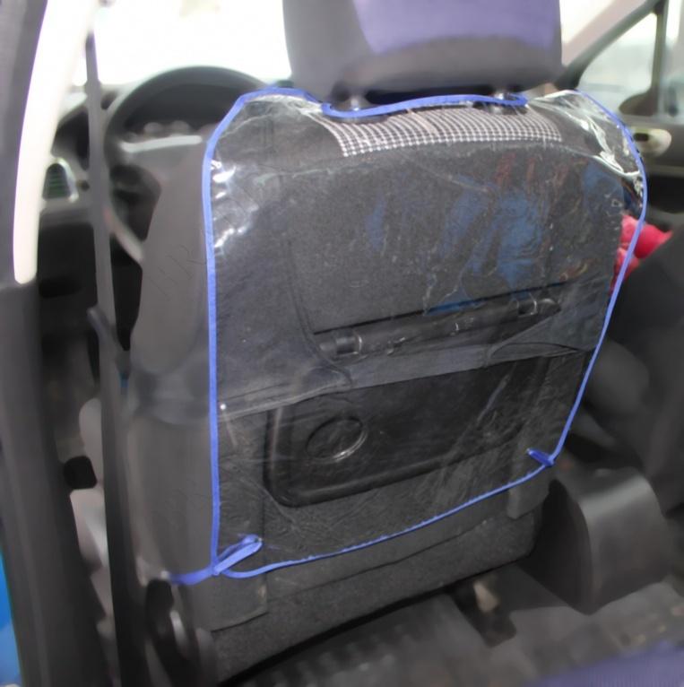 Защита для автомобильного кресла «авто-кроха» (car seat back protector)