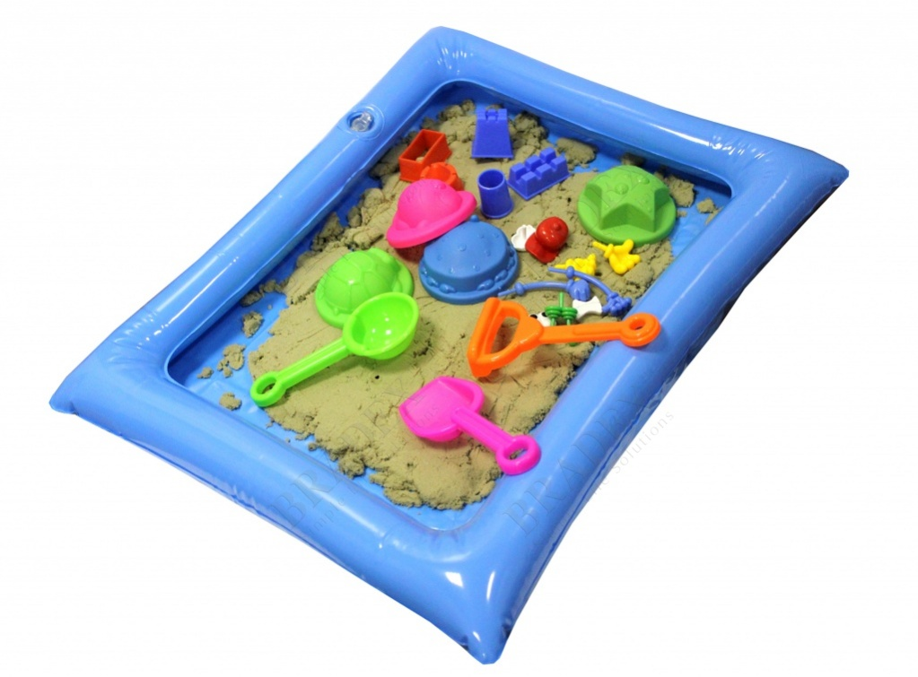 Набор «чудо-песочница» 1,3 кг (smart sand)