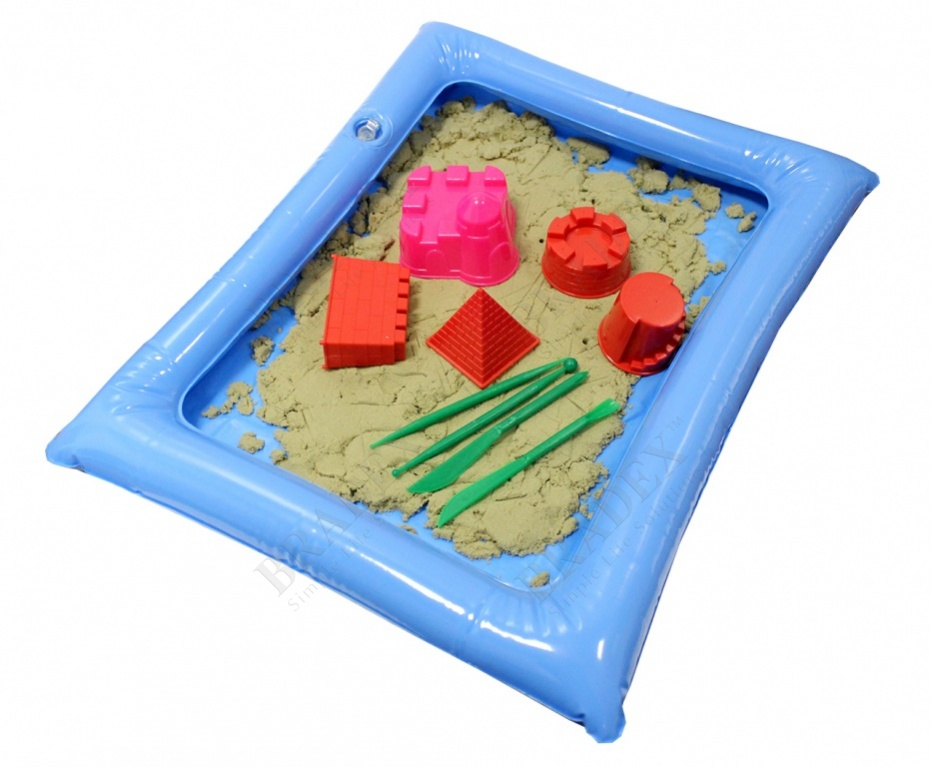 Набор «чудо-песочница» 2 кг (smart sand)