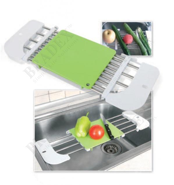 Подставка на раковину с разделочной доской «синк мастер» (draining rack)