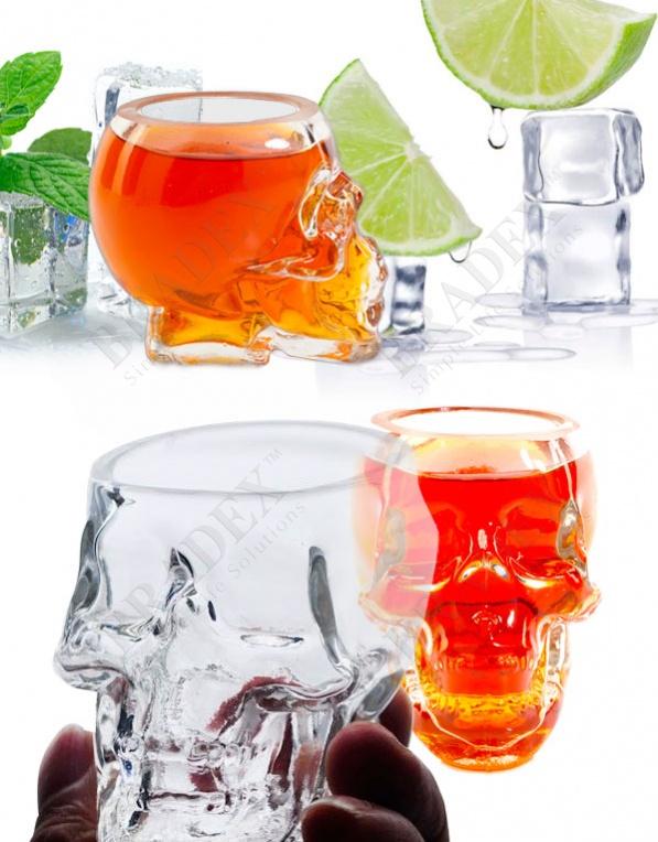 Стопка «бедный йорик» (glass skull)