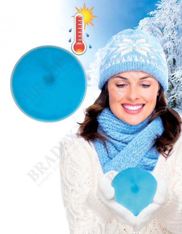 Грелка солевая саморазогревающаяся круглая 10х10см (click heat pads 10x10cm)