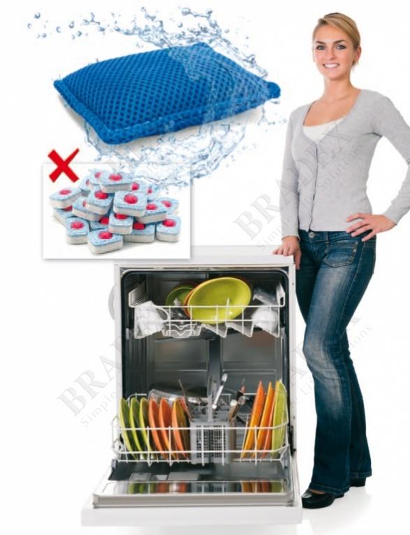 Мешочек для мытья посуды в посудомоечной машине (dishwasher bag)