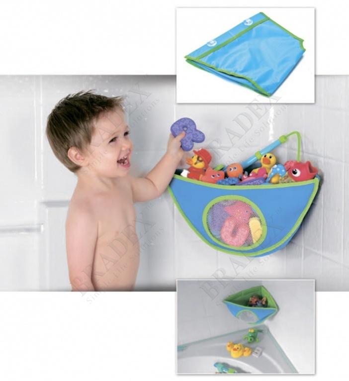 Сетка для ванной для хранения игрушек (toy organizer for bath toys)