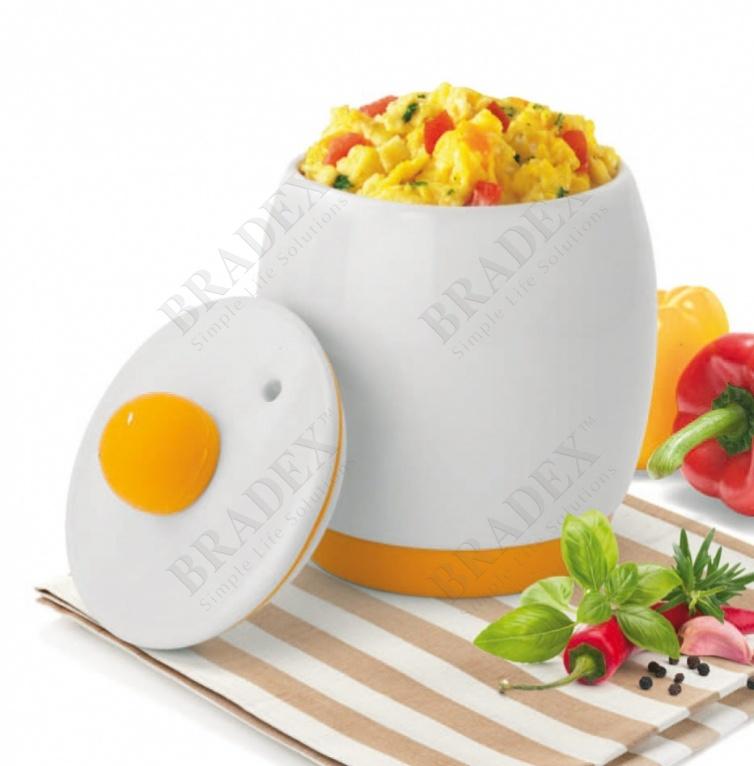 Емкость керамическая для приготовления блюд в микроволновой печи (egg tastic)