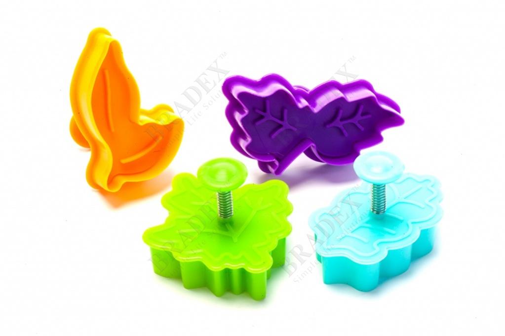 Набор форм для печенья и мастики «сказочный лес» (molds for cookies fairy forest)