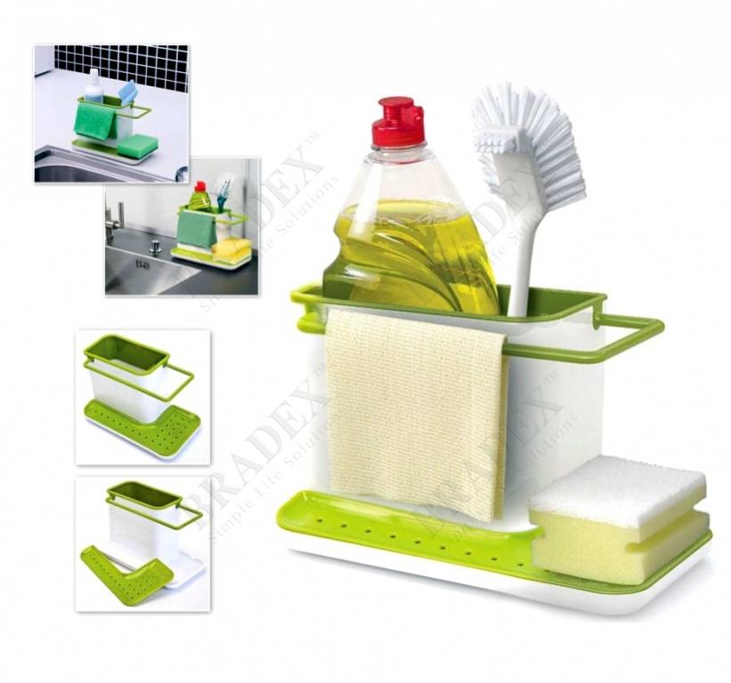 Органайзер для раковины вертикальный (3 in 1 kitchen stands)