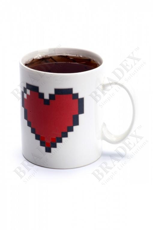 "Кружка-хамелеон «любовь» (cup ""love"")"