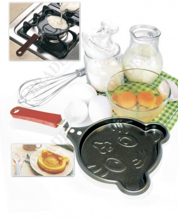 Мини-сковорода «котенок мяу» (frying pan cat)