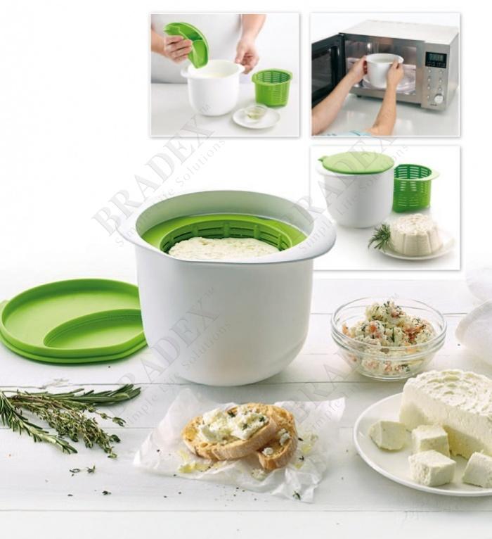 Аппарат для приготовления домашнего творога и сыра «нежное лакомство» (microwave cheese maker)