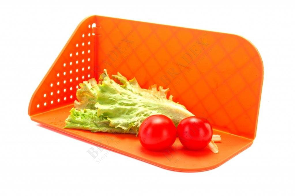 Доска-дуршлаг кухонная многофункциональная (cutting plastic board colander)