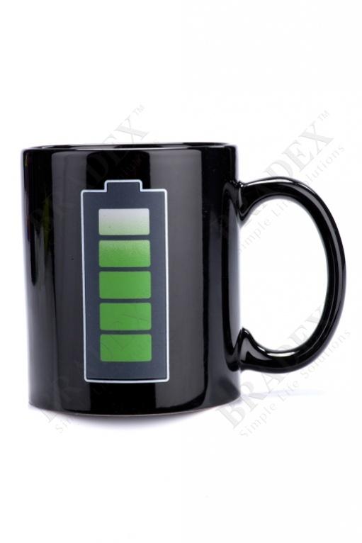"""Кружка-хамелеон «батарейка» (cup """"battery"""")"""