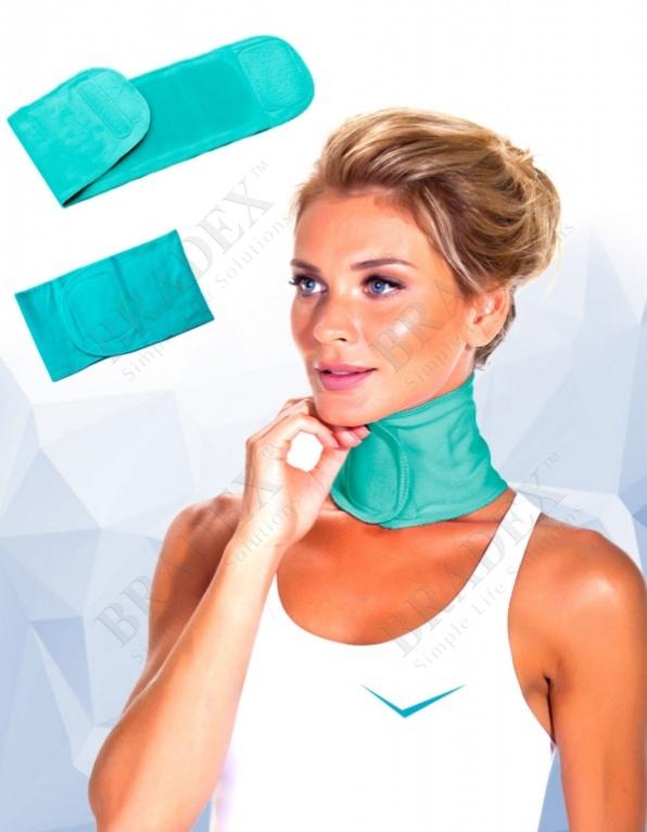 Воротник с силиконовой подкладкой увлажняющий «naomi» (spa gel neck pads)