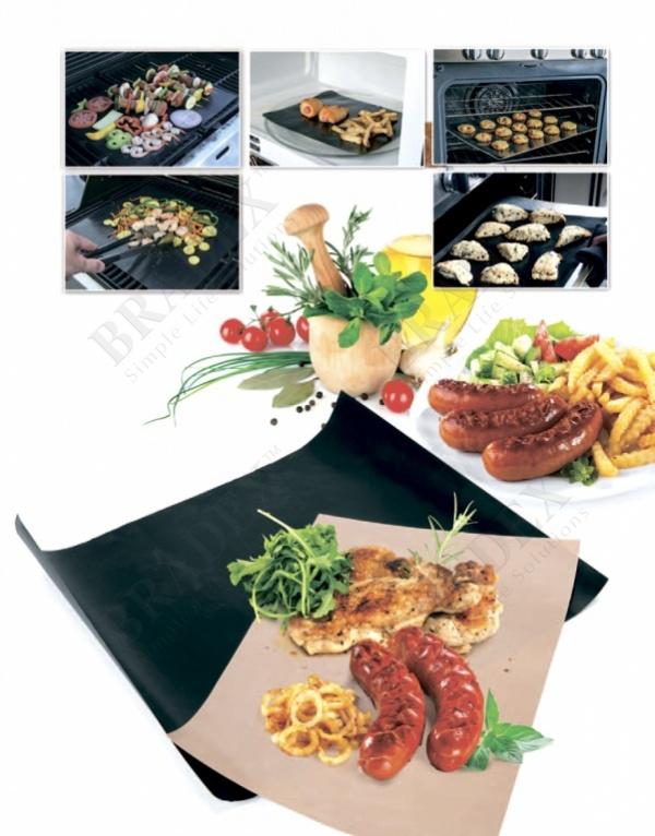 Набор антипригарных ковриков для гриля и духовки (grill and bake mats)