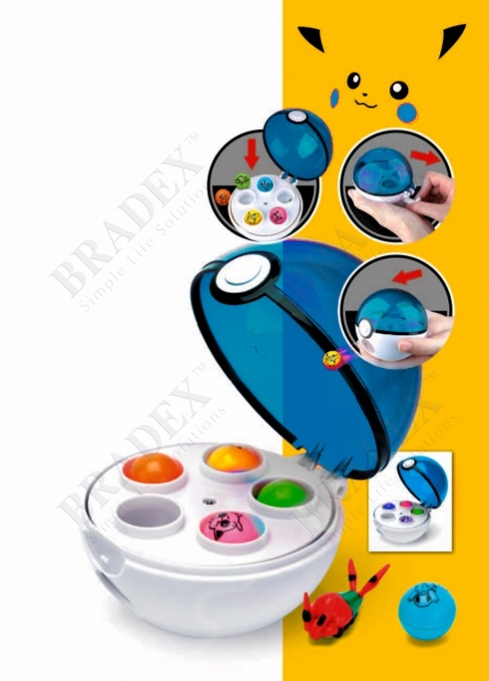 Игра «найди пикачуля» голубой (find pikachul blue)