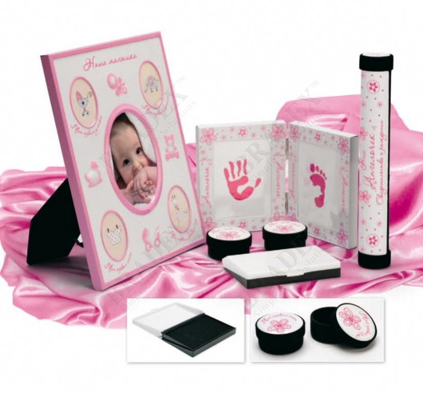 Набор подарочный для новорождённого «моя малышка» (5 pcs baby gift sets)