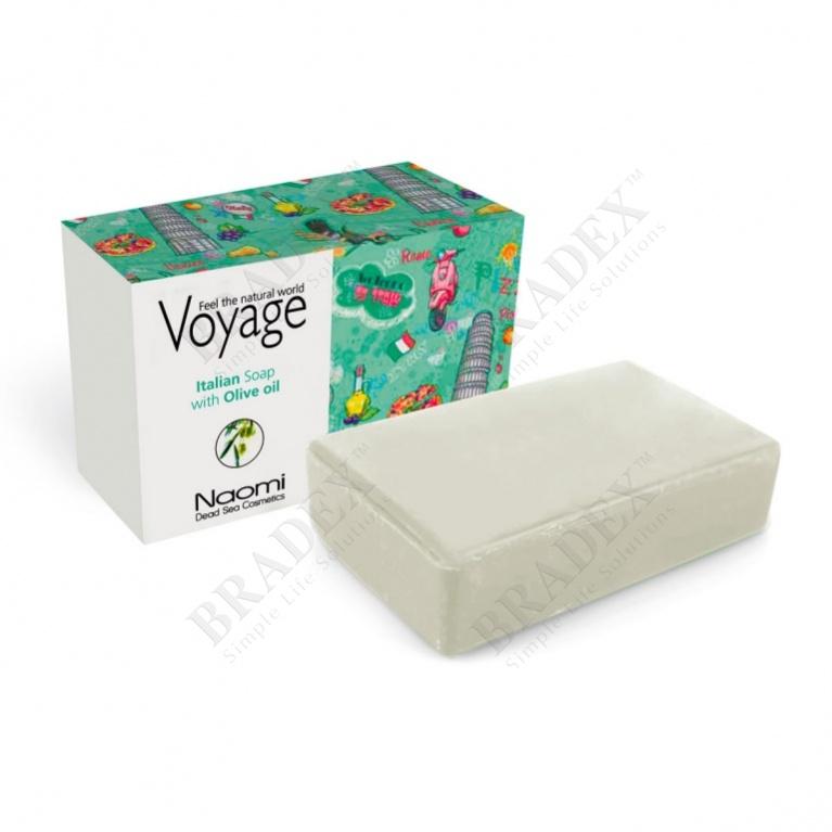 Мыло «путешествие в италию» (voyage natural soap)