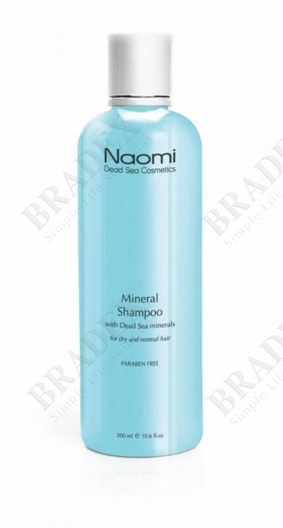 Шампунь с минералами мертвого моря «naomi», 300 мл. (mineral shampoo)