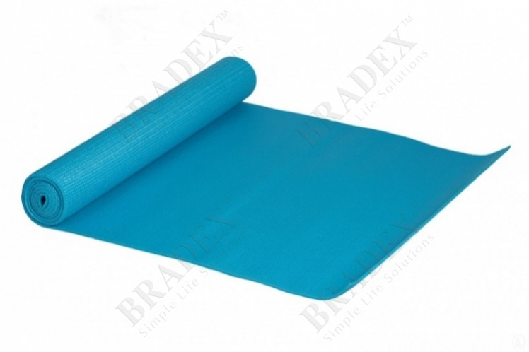 Коврик для фитнеса «йогамат» (yoga mate 5 mm, blue color)