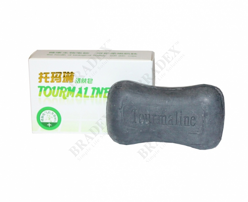 Мыло турмалиновое (tourmaline soap)