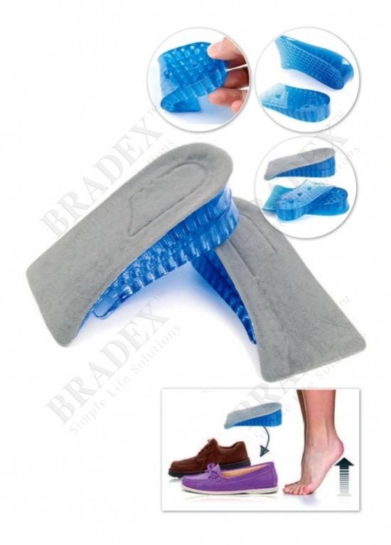 Полустельки-каблуки амортизирующие двухуровневые «гулливер»