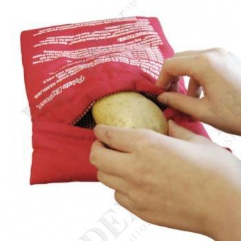Рукав для запекания картофеля в микроволновой печи (potato express, microwave potato cooker)
