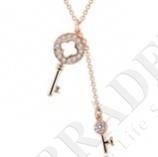 Колье «золотой ключик» pendant with chain 40 + 6 cm купить оптом