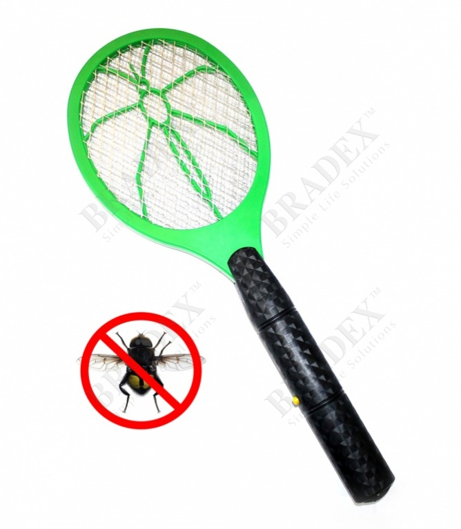 Мухобойка для насекомых электрическая (mosquito swatter)