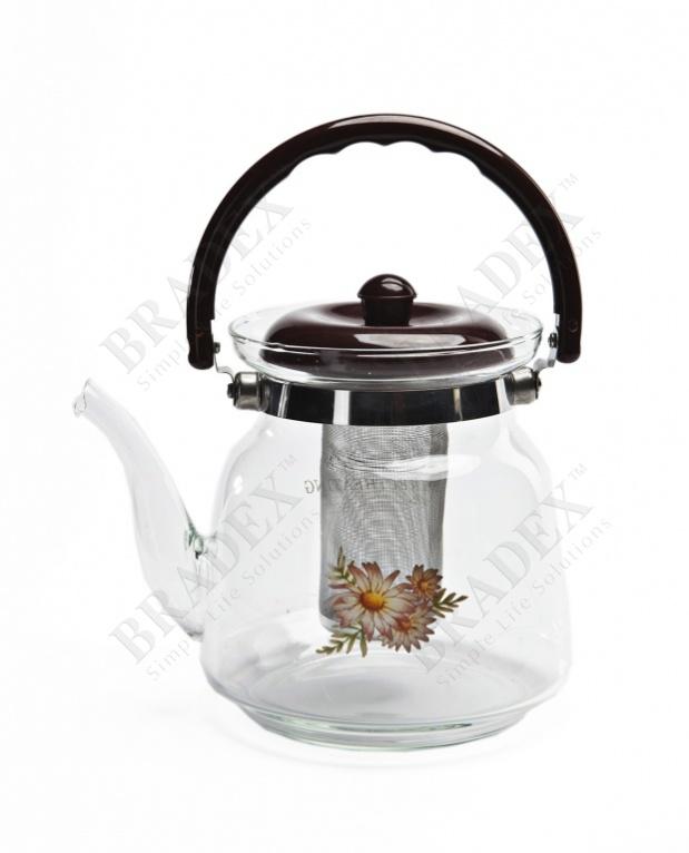 Чайник заварочный стеклянный (glass teapot)