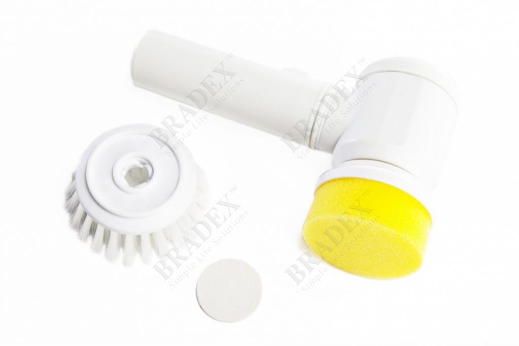 Щётка для чистки электрическая «золушка» (magic brush with battery operated)