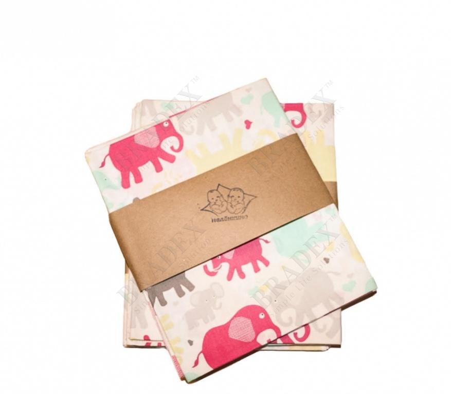 Пеленка детская «слоненок» (слоники 310)