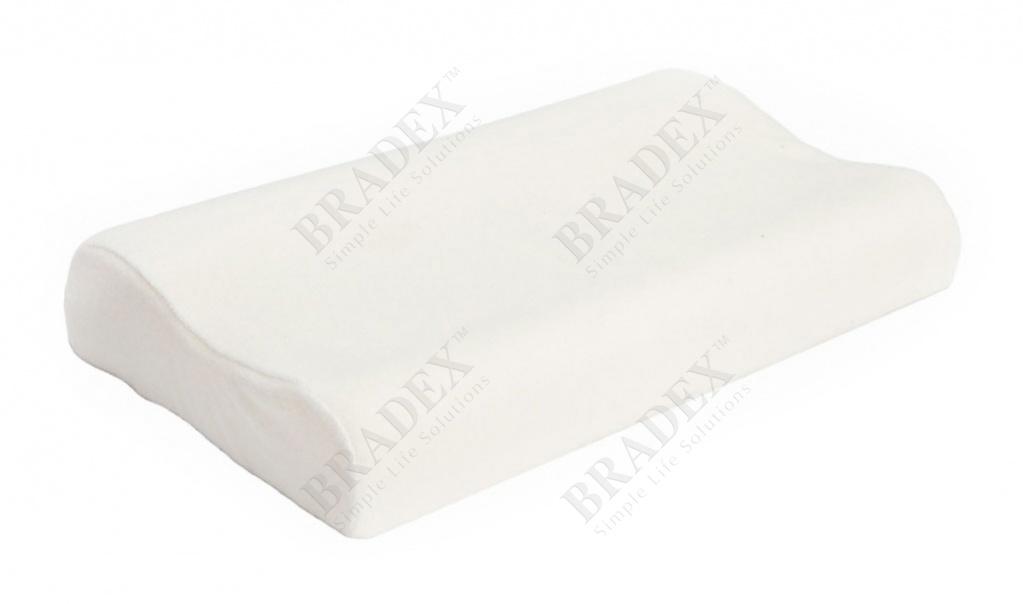 Подушка ортопедическая с памятью «здоровый сон» (memory foam pillow)