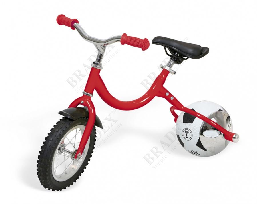 Беговел с колесом в виде мяча «велоболл» красный (walking bike on ball, two)