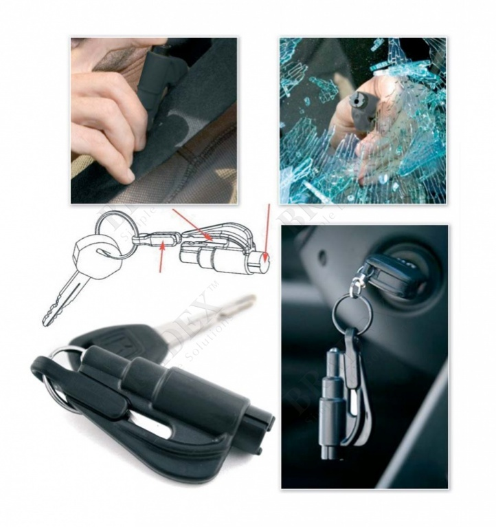Брелок аварийный для автомобилиста (resqme car escape tool)