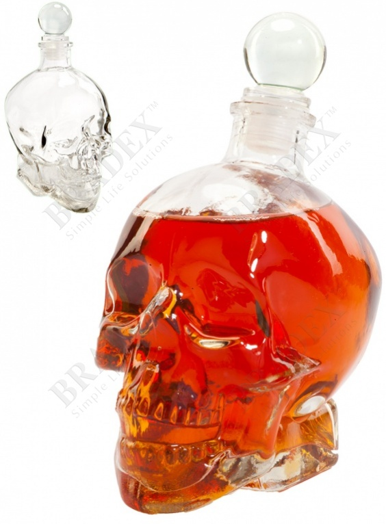 Графин «бедный йорик» (carafe skull 440ml)