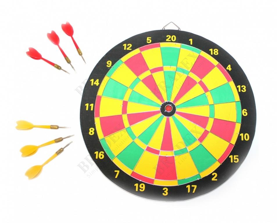 Набор для игры в дартс (dart board)