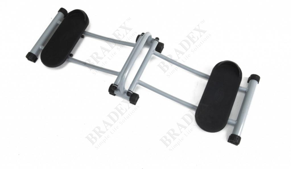 Тренажер для мышц ног с роликовыми платформами «стройные ноги» компактный (leg magic mini)